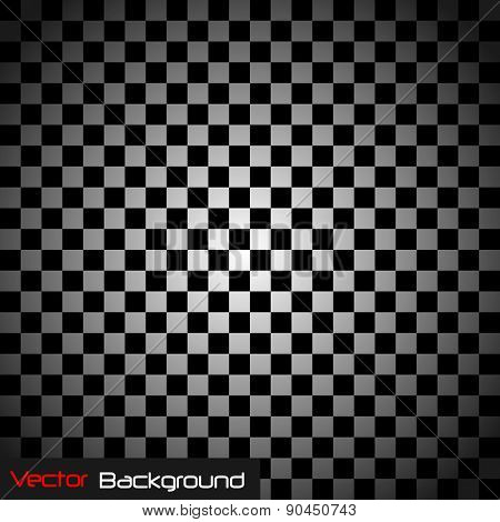 Abstract Checkered Vector Background