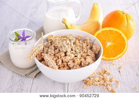 bowl of cereal,healthy breakfast