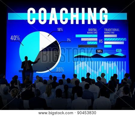 Coaching Guide Teaching Seminar Workshop Concept