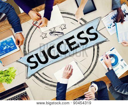 Success Competition Achievement Mission Goal Concept