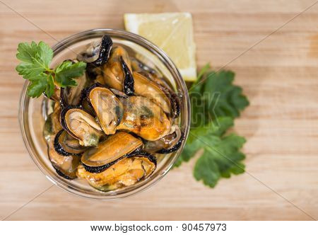 Pickled Mussels (with Fresh Herbs)