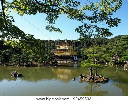 Garden complex around Golden Pavilion