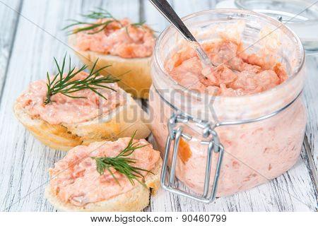 Creamy Salmon Salad