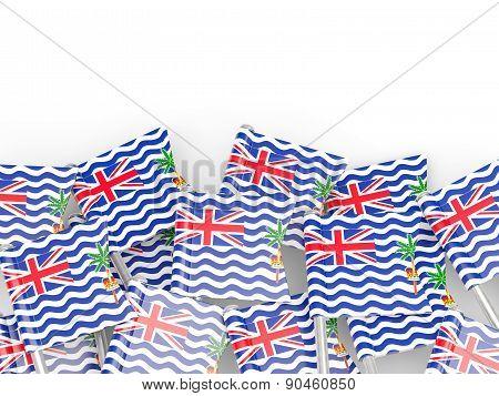 Flag Pin Of British Indian Ocean Territory