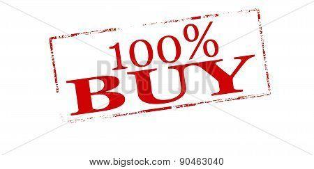 One hundred percent buy