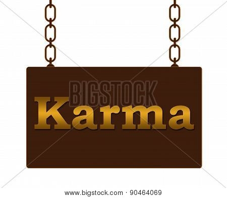 Karma Signboard