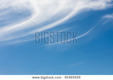 Detail of cirrus cloud