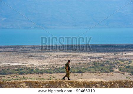 Israelien Soldier