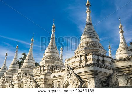 Sandamuni Pagoda. Mandalay, Myanmar (burma) Travel