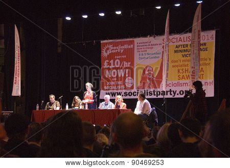 Socialism 2014, London UK