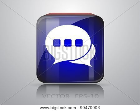 icon of a communication
