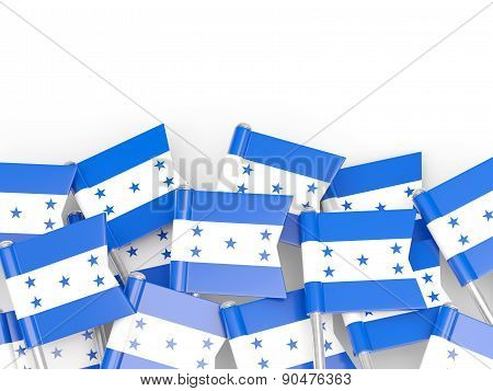 Flag Pin Of Honduras