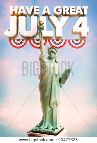 July 4 Statue Of Liberty