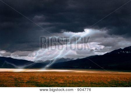 Ein Blitz