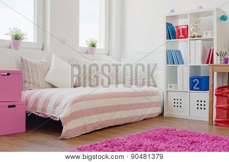 Cushions On The Bed