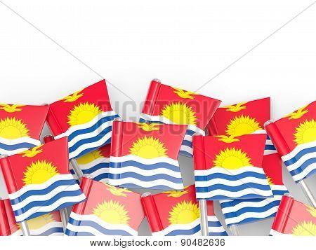 Flag Pin Of Kiribati