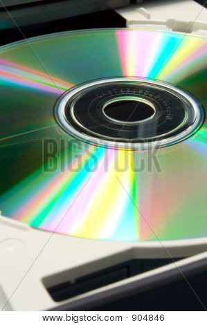 Cd In Tray Close