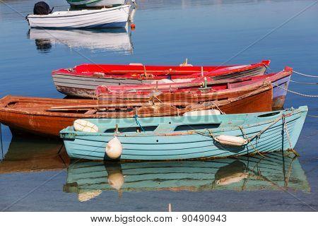 Fishing boats in Greece bay