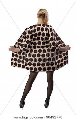 Image of cute woman in coat