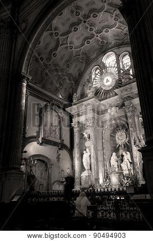 In The Santa Iglesia Catedral Basílica De La Encarnación Malaga