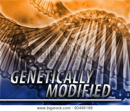 Abstract background digital collage concept illustration genetically modified genetics