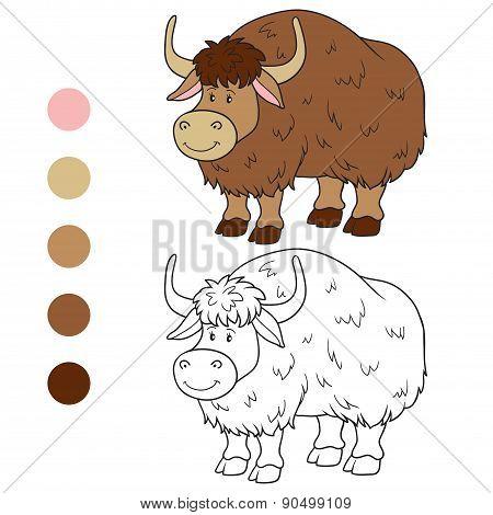 Coloring Book (yak)