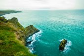 pic of atlantic ocean  - Irish landscape - JPG