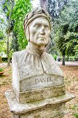 picture of comedy  - Bust statue of Dante Alighieri  - JPG