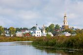 foto of paysage  - View of the church in Suzdal - JPG