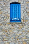 picture of french culture  - The French Window with Closed Wooden Shutter - JPG