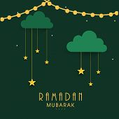 stock photo of ramadan mubarak  - Islamic holy month of prayers - JPG
