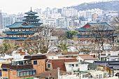foto of palace  - Gyeongbokgung - JPG