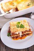 foto of lasagna  - lasagna - JPG