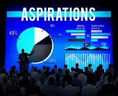 picture of desire  - Aspirations Goal Ambition Desire Innovation Concept - JPG