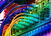 image of cisco  - Data transfer by optical fibre information technology - JPG