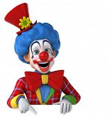 stock photo of clowns  - Fun clown - JPG