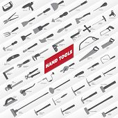picture of hand tools  - A selection of two - JPG