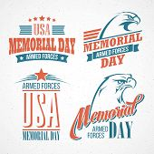 stock photo of eagles  - Memorial Day - JPG
