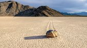 image of grandstand  - Racetrack Playa - JPG