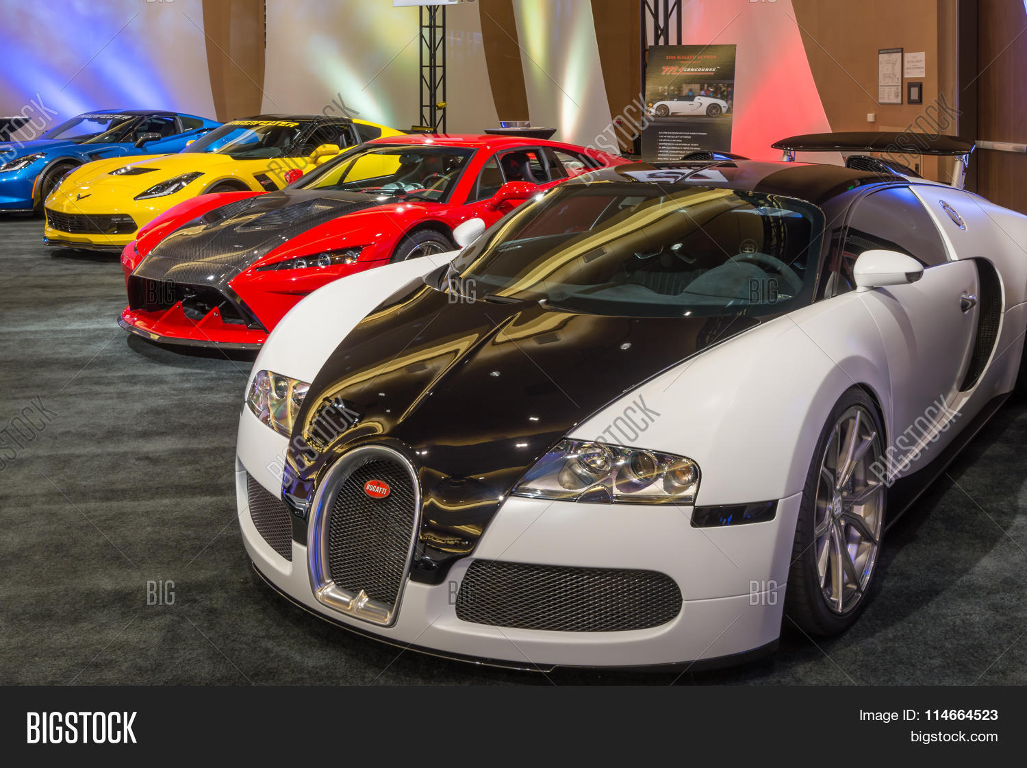bugatti veyron falcon f7 image photo bigstock. Black Bedroom Furniture Sets. Home Design Ideas