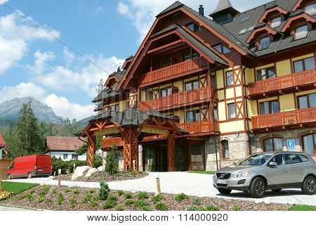New Hotel In High Tatras.
