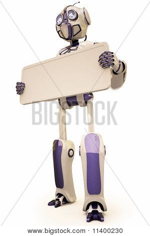 Robot Billboard