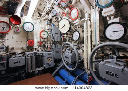 Submarine Interior
