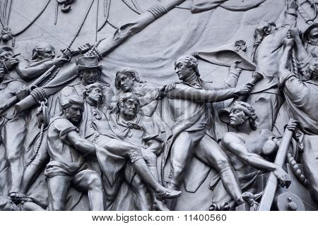 Battle of Trafalgar, Nelson's Column
