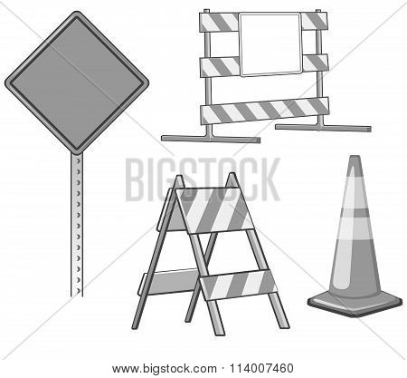 Under Construction Design Elements