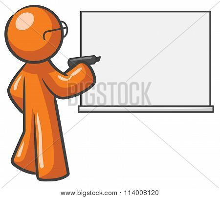 Design Mascot Dry Erase Board Blank