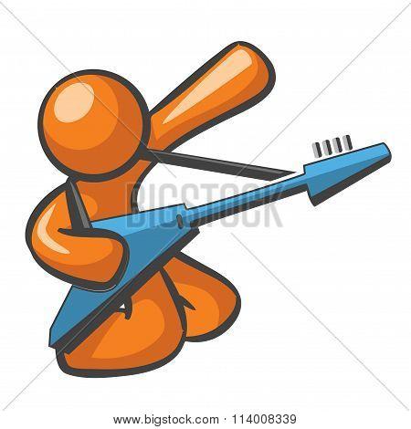 Orange Man Electric Guitar