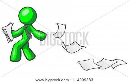 Green Man Paper Trail