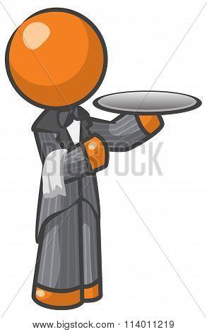 Orange Man Butler