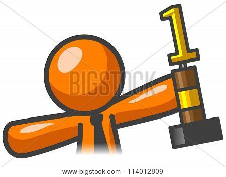 Orange Man Trophy